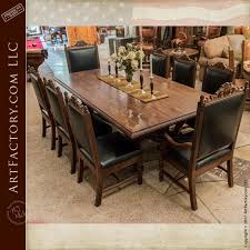solid wood dining room tables custom dining tables master hand carved heirloom quality