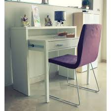 bureau console 2 tiroirs bureau console extensible work l98cm 2 tiroirs pas cher à prix auchan