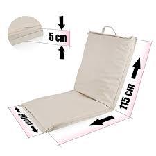 si e de pliable ampel 24 siège de sol festival chaise de méditation avec dossier