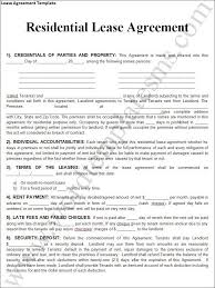 property lease agreement template pdf format land lease agreement
