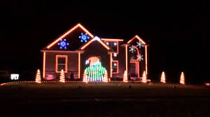 christmas light displays in ohio pilz s christmas light show medina ohio youtube
