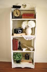 chicken wire bookcase