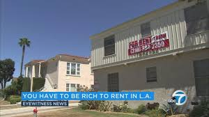 renters abc7 com a new study says angelenos looking to afford a two bedroom apartment will need to