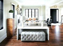 table that goes behind couch couch bar table behind the sofa table impressive modern table for