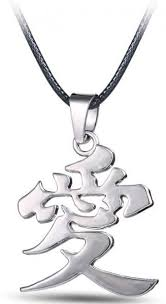 naruto anime necklace images Naruto gaara love necklace hot anime series stainless steel jpg