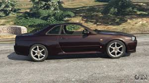 nissan skyline left hand drive for sale nissan skyline gt r r34 1999 for gta 5