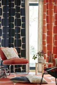 Red Drapery Fabric Living Room Ikea Ikea Curtains Scandinavian Drapery Fabric