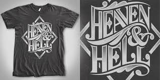 heaven hell t shirt design by doniel worx mintees