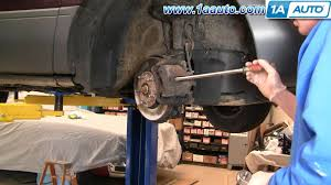 how to install replace front disc brake pads u0026 rotors toyota