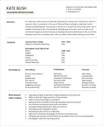 accountant assistant resume accounting assistant cv account