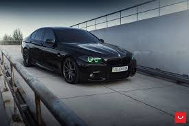 custom black bmw bmw 5 series m sport with vossen wheels