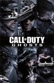 film ghost team cod ghosts team game poster 22x34 rp13032 upc882663030323 call of