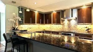 Undercounter Kitchen Lighting Fancy Counter Lighting Kitchen Illuminated With