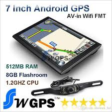 best android gps 7 inch car tablet gps navigation system a13 1 2ghz wifi avin fm