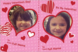 free valentines cards 30 free personalized kids cards from vistaprint
