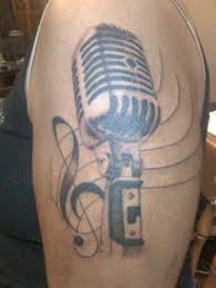 images about tattoos on pinterest microphone tattoo guitar
