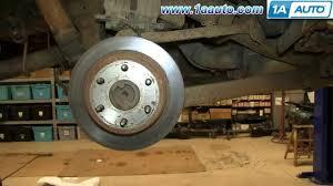 How To Install Replace Rear Axle 2000 06 Chevy Suburban Silverado