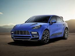 mansory porsche mansory touches the porsche macan suv outcome looks manly and