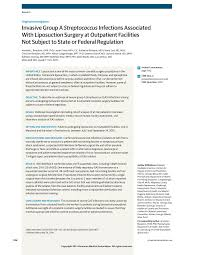 Oracle Pl Sql Developer Resume Sample by Streptococcus Infections And Liposuction Surgery Bariatric