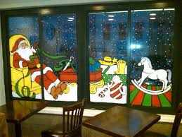 painting on glass windows 2014 christmas window painting painting from life