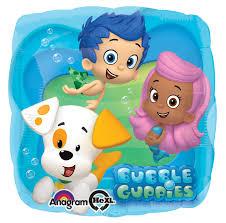bubble guppies foil balloon birthdayexpress