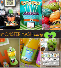 Halloween Monster Ideas Monster Mash