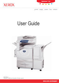 download free pdf for xerox docucolor 242 multifunction printer manual