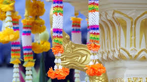 Decorative Trees In India Mumbai India December 20 2015 4k Footage Of Shops In Mumbai