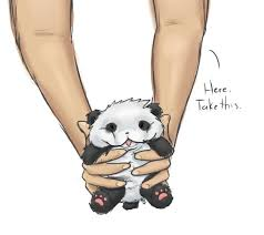 have a fluffy baby panda by xbabypandax on deviantart