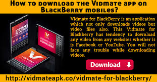 vidmate app for blackberry is very reliable downloading software