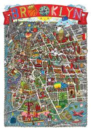 New York Neighborhood Map Brooklyn Neighborhoods Map My Blog