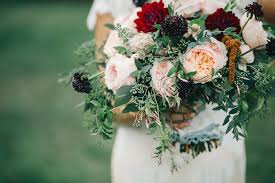Wedding Flowers Greenery Sara Ben Stylish Fall Wedding In Nashville U2014 Rosemary U0026 Finch