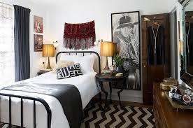 Rustic Vintage Bedroom - nice rustic master bedroom with vintage side vanity also wicker