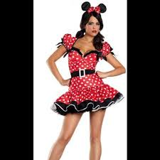 Minnie Mouse Halloween Costumes Adults Minnie Mouse Halloween Costumes