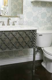 new wrought iron bathroom vanities by urban ironcraft artisan