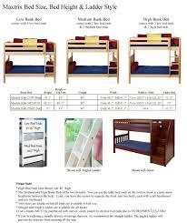 bunk bed measurements scenic australia nz uk ikea metal cer rv inches cm plans mydal