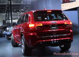 jeep grand cherokee srt red jeep launches wrangler grand cherokee u0026 srt pics features auto