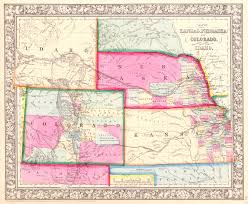 Topographical Map Of Oregon by Maps Antique United States Us States Idaho