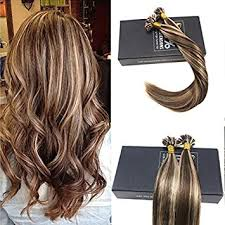 keratin tip extensions 7a prebonded u tip hair extensions brown with