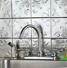 peel and stick vinyl tile backsplash home design ideas