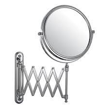 Adjustable Bathroom Mirrors - adjustable wall mounted bathroom mirror 10 square mirrors large