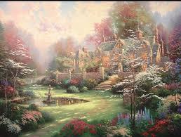 Thomas Kinkade Clocktower Cottage by 649 Best Thomas Kinkade Images On Pinterest Paintings Drawings