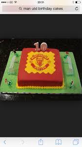 72 best man utd cakes images on pinterest football cakes cake