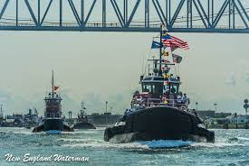 tugs on parade courtesy of a change new england waterman