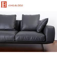 Soft Leather Sofa China New Italian Modern Sectional Genuine Nappa Soft Leather Sofa