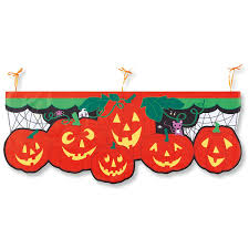 halloween porch banner lillian vernon