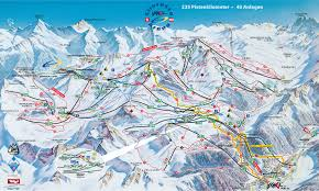 Map Of Colorado Ski Resorts by Courchevel Piste Map Ski Pinterest