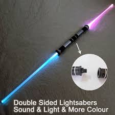 2 pieces lightsaber sound light sword toy cosplay props kids