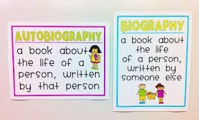 biography an autobiography difference the teacher wife all about biographies