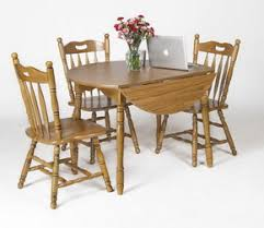 Drop Leaf Table And Chairs Americana 42